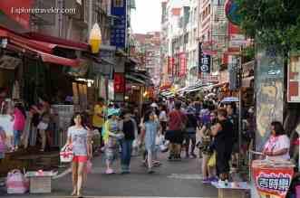 Danshui Old Street Taiwan