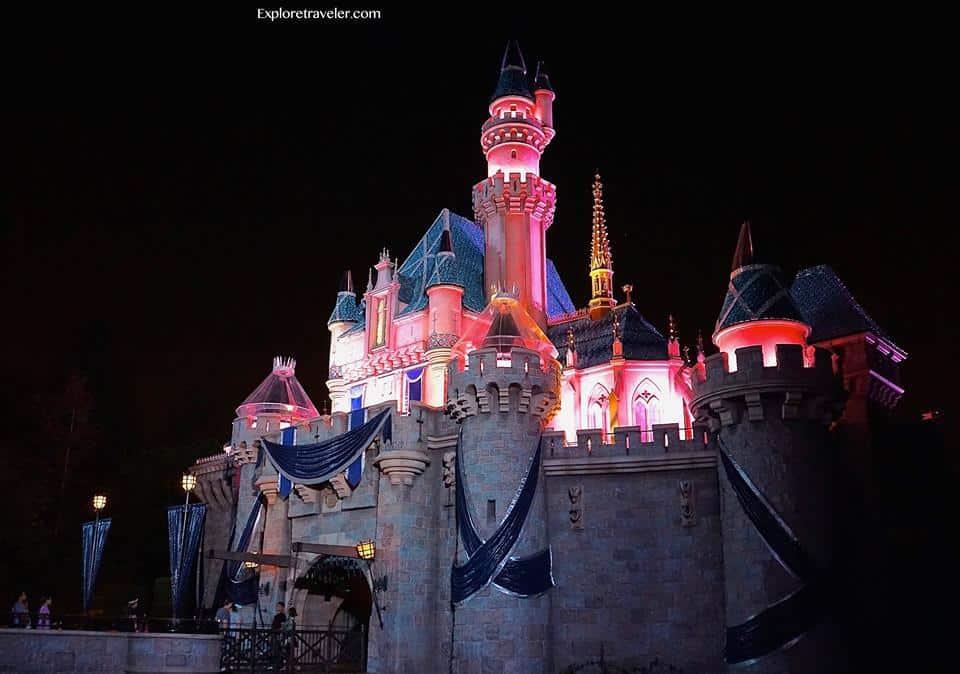 Magical Sleeping Beauty Castle