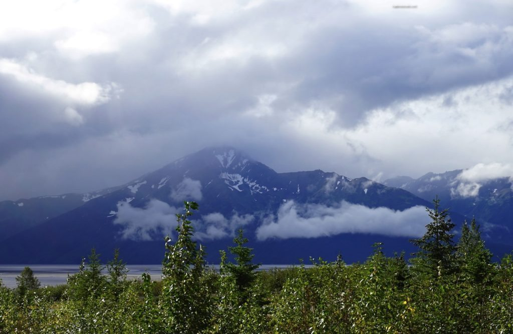 Photo of the day ~ The many mountains near Anchorage Alaska