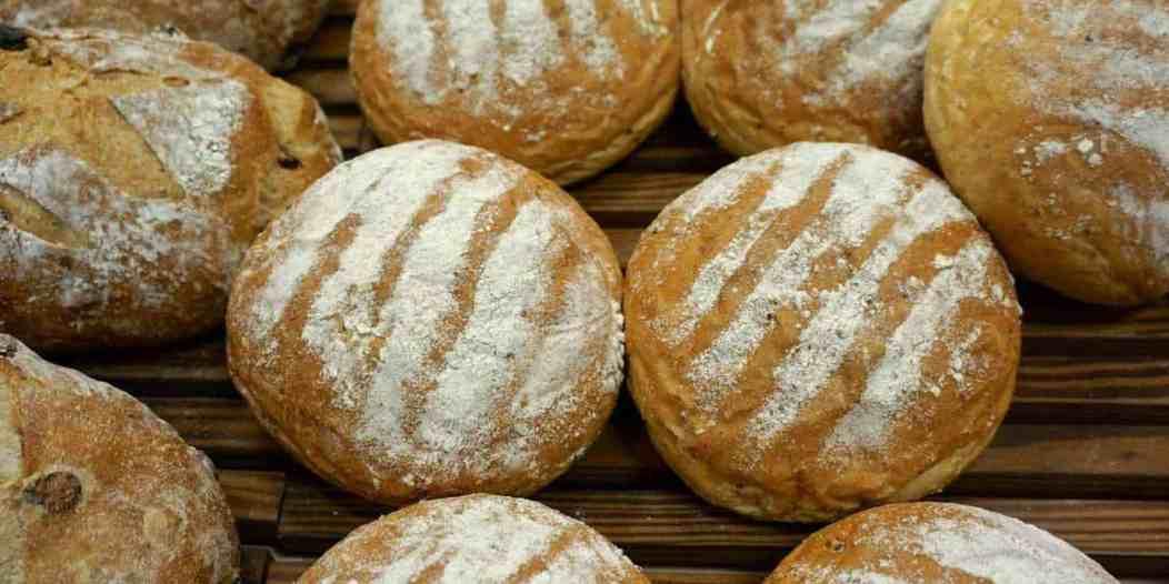 Travel the World Recipes ~ Australian Damper Bread - A close up of a doughnut - Rye bread