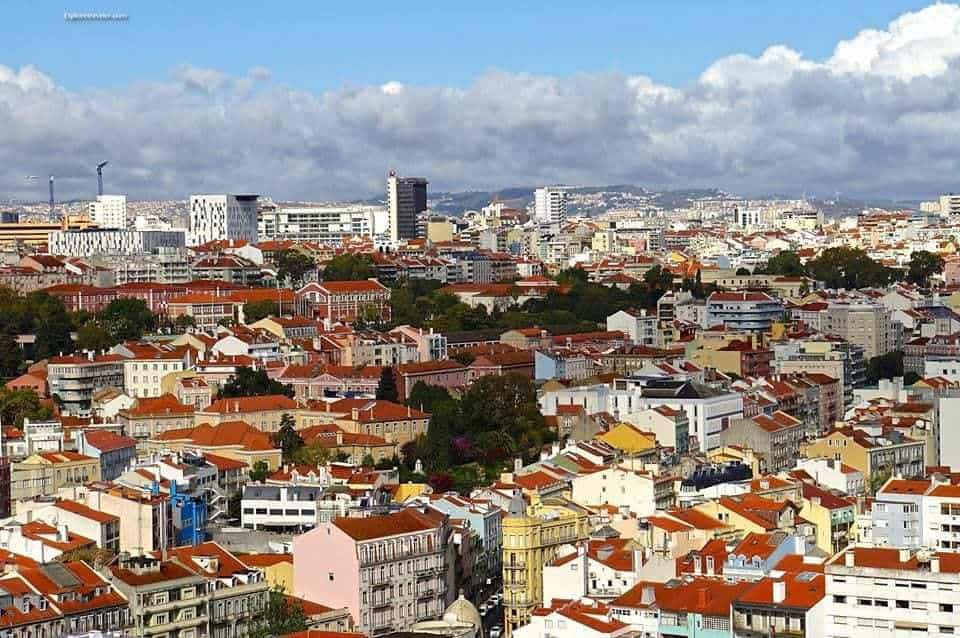 Photo of the Day ~ Blending The Old And The New In Lisbon Portugal - A large city - Lisbon