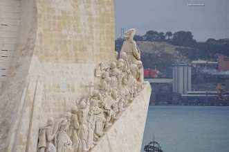 Portuguese Explorers During The Age Of Discoveries In Lisbon Portugal - A stone building - Tourism