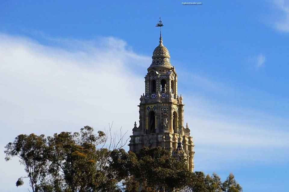 Historic Bell Tower in Balboa Park