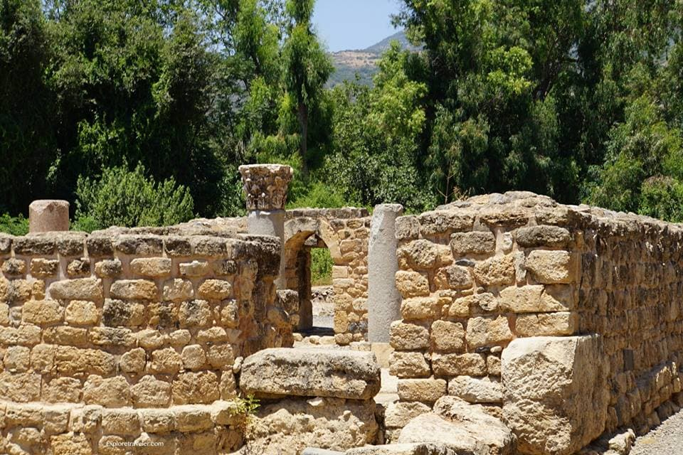 Agrippa Palace In Caesarea Philippi 3