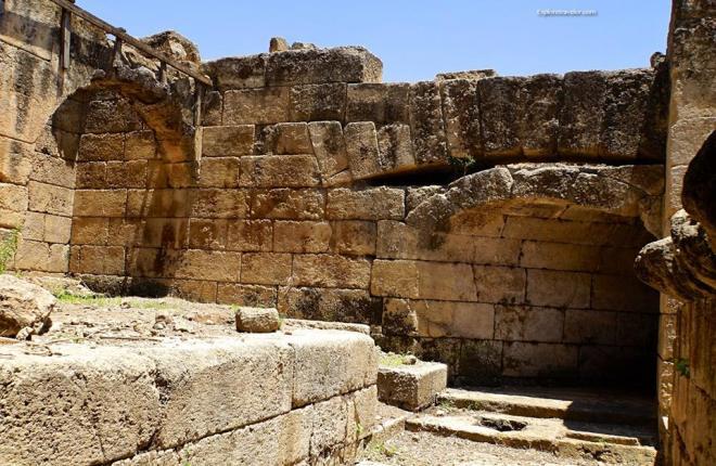 Agrippa Palace In Caesarea Philippi 3