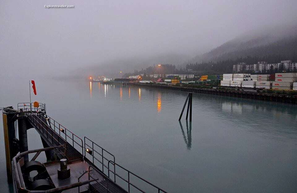 Whittier Alaska Port