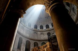 The Magnificent Church Of The Holy Sepulcher In Jerusalem Israel 1