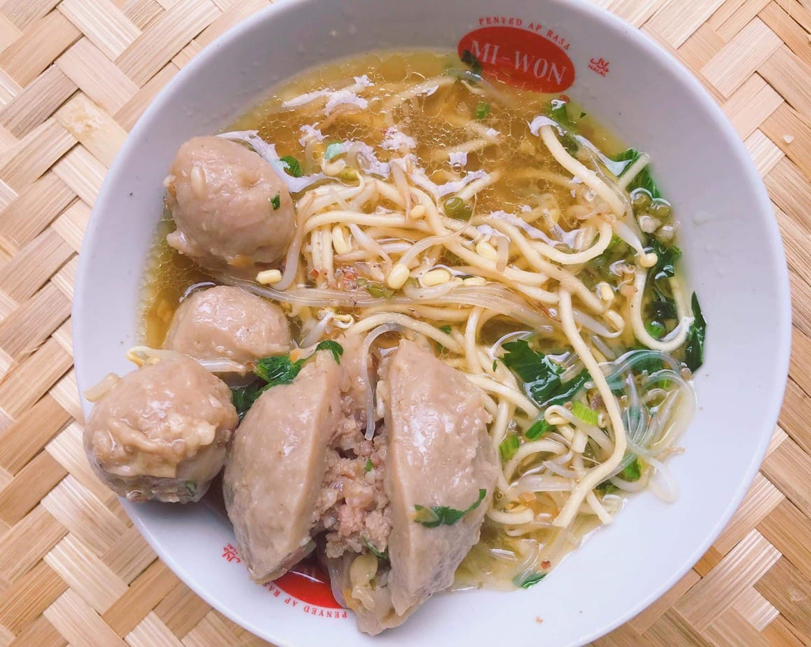 Bakso Indonesian Meatball Soup Recipe