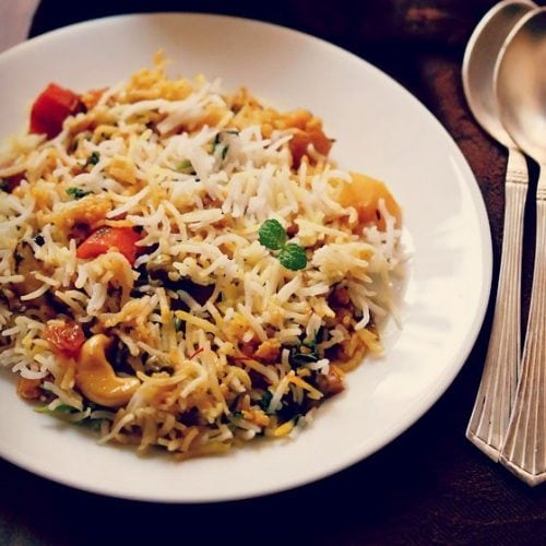 Rice, Pulav or Biryani