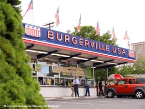 Burgerville drive in