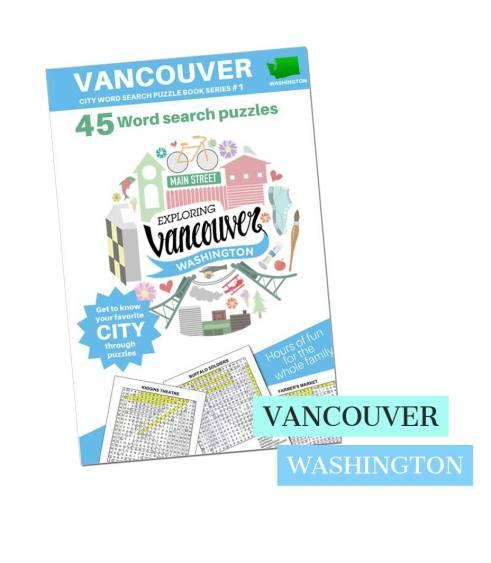 Vancouver wa wordsearch puzzle book