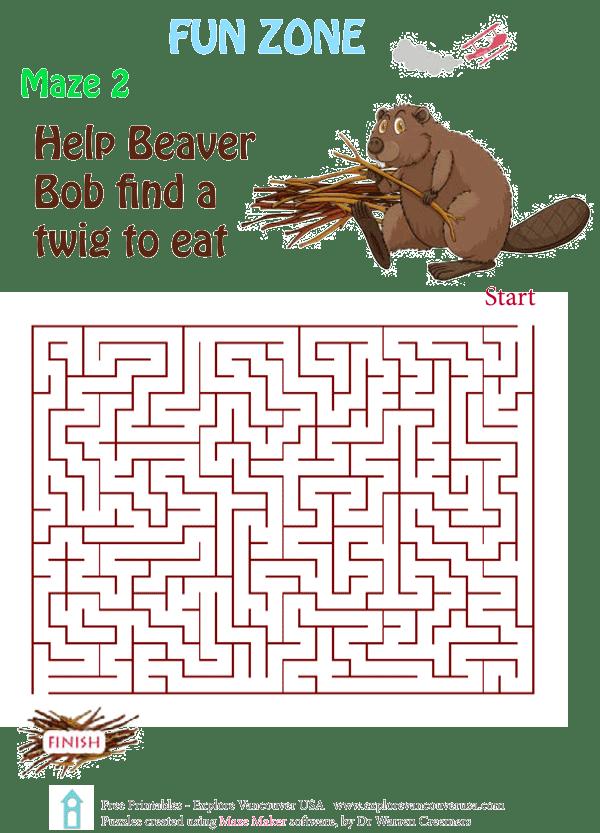 Beaver Bob Maze 2