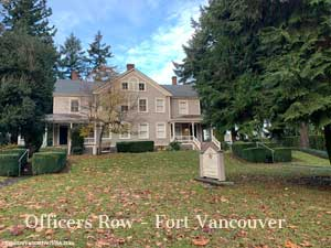 Gorgeous home for two Officers families at Fort Vancouver