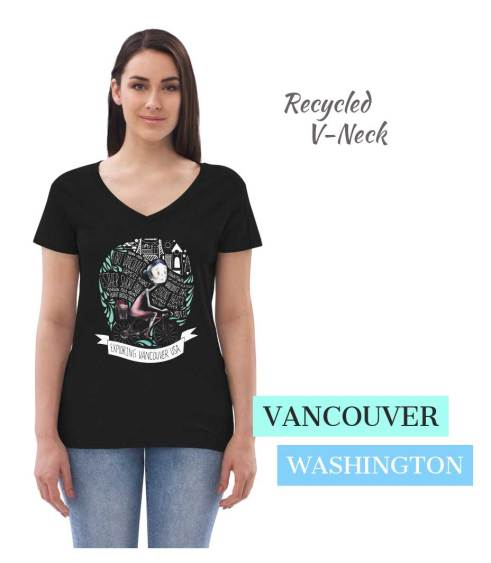 Vancouver wa women's t shirt recycled