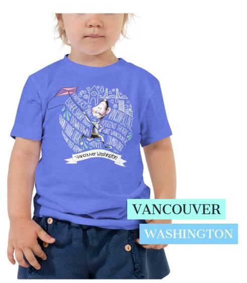 Vancouver Wa toddler t shirt