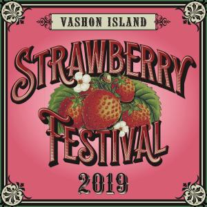 Vashon Island Strawberry Festival Logo 2019