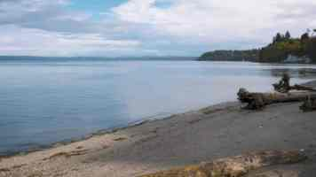 Dash Point Park and Pier View of Puget Sound