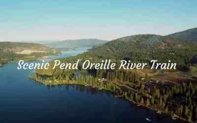 Scenic Pend Oreille River Train