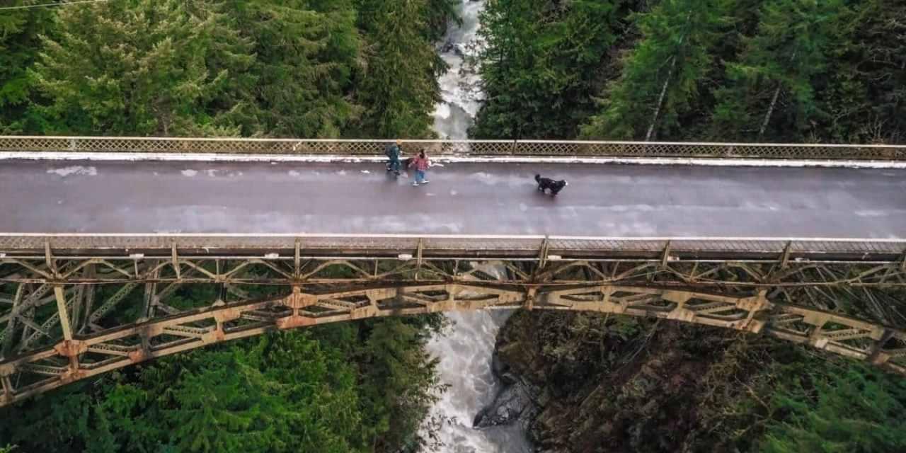 Fairfax Bridge near Rainier National Park