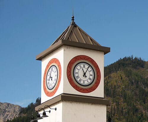 Live in Leavenworth and see this beautiful clock tower everyday