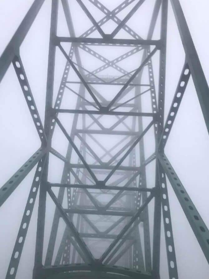 Astoria Bridge in Fog