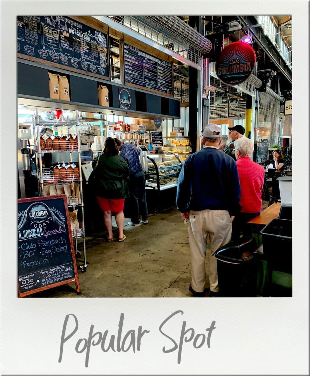 Cafe Columbia at Pybus Market