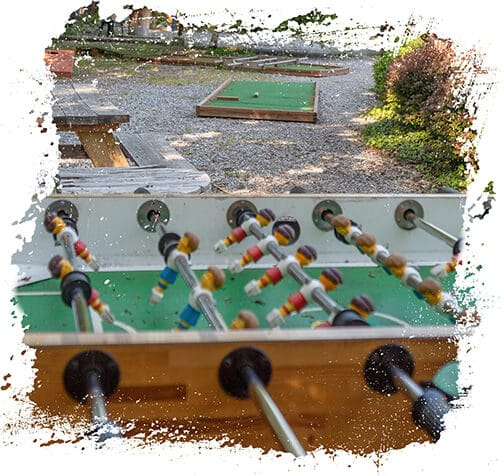 Hops and Headz Foosball Table