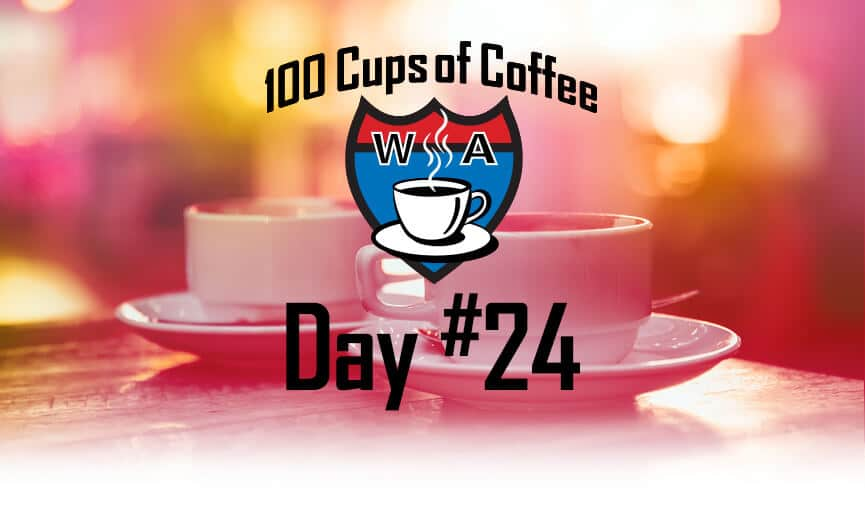 Santa Lucia Coffee Centralia, Washington Day 24 of the 100 Cups of Coffee in 100 Days Project