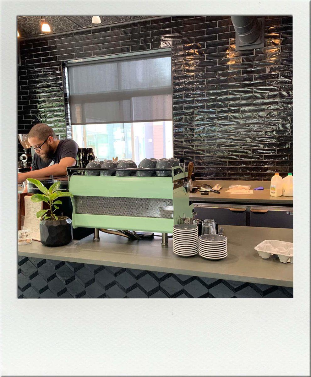 Beautiful Espresso Machine at Anchorhead Coffee Issaquah