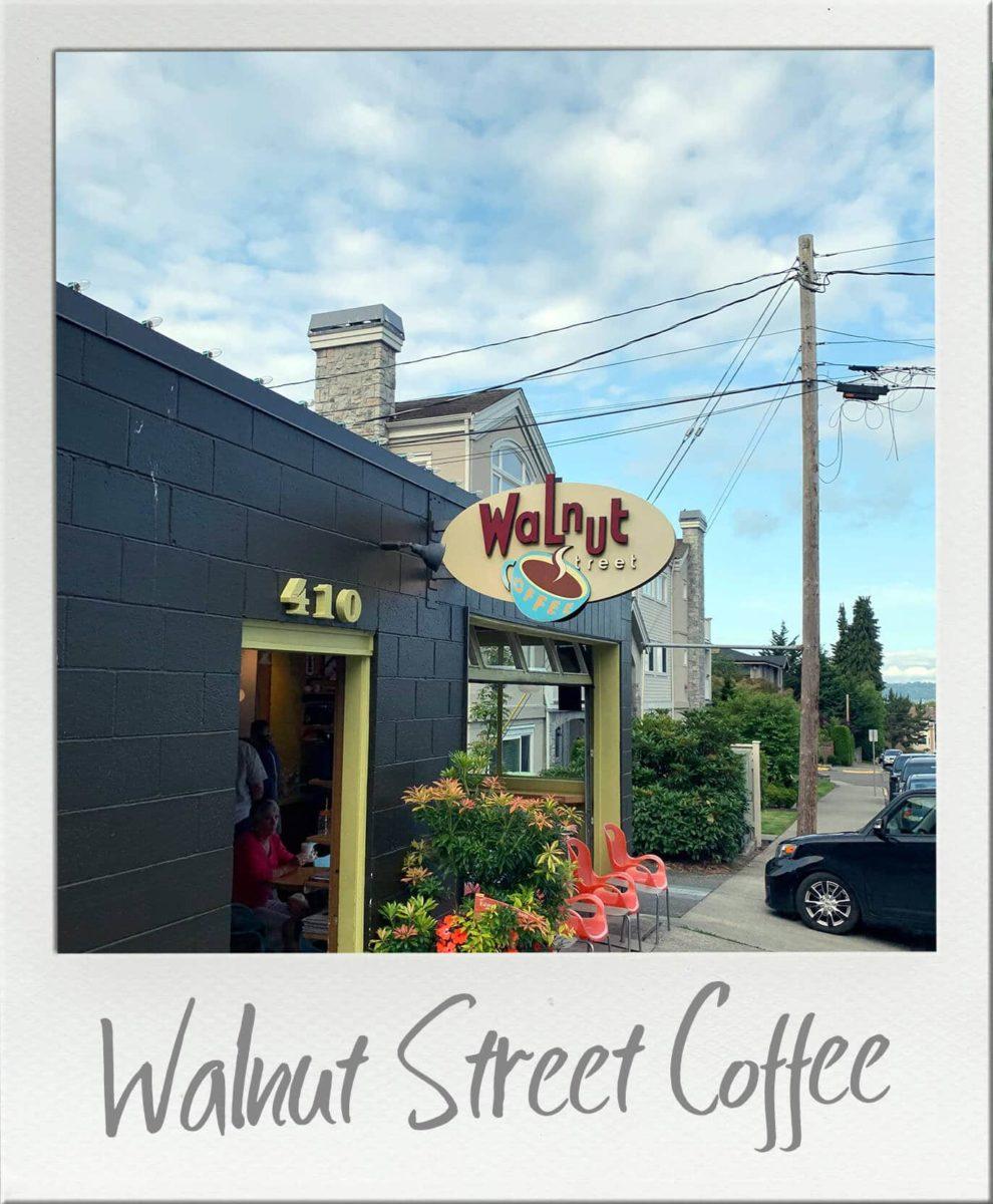 Walnut Street Coffee Exterior View