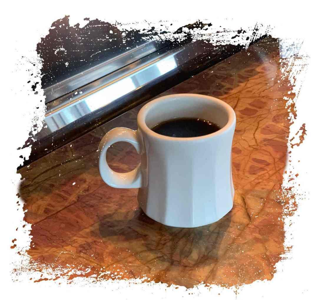Batdorf & Bronson Coffee in Coffee Cup