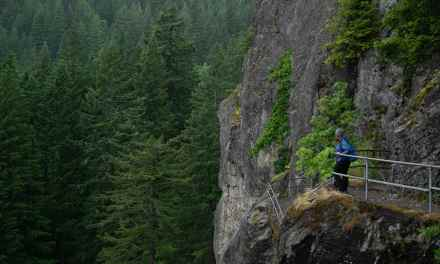 Conquering Beacon Rock in the Gorge