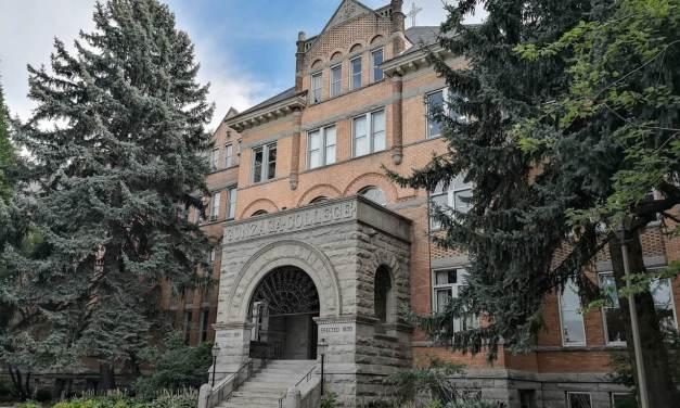 Visiting Gonzaga University in Spokane