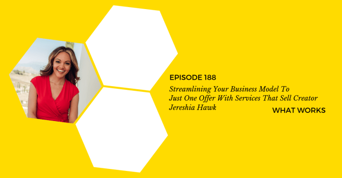If you want to streamline your business model or small business, you MUST listen to this business podcast. Click through for entrepreneur tips you've never heard before! #entrepreneurpodcast #streamlinebusiness