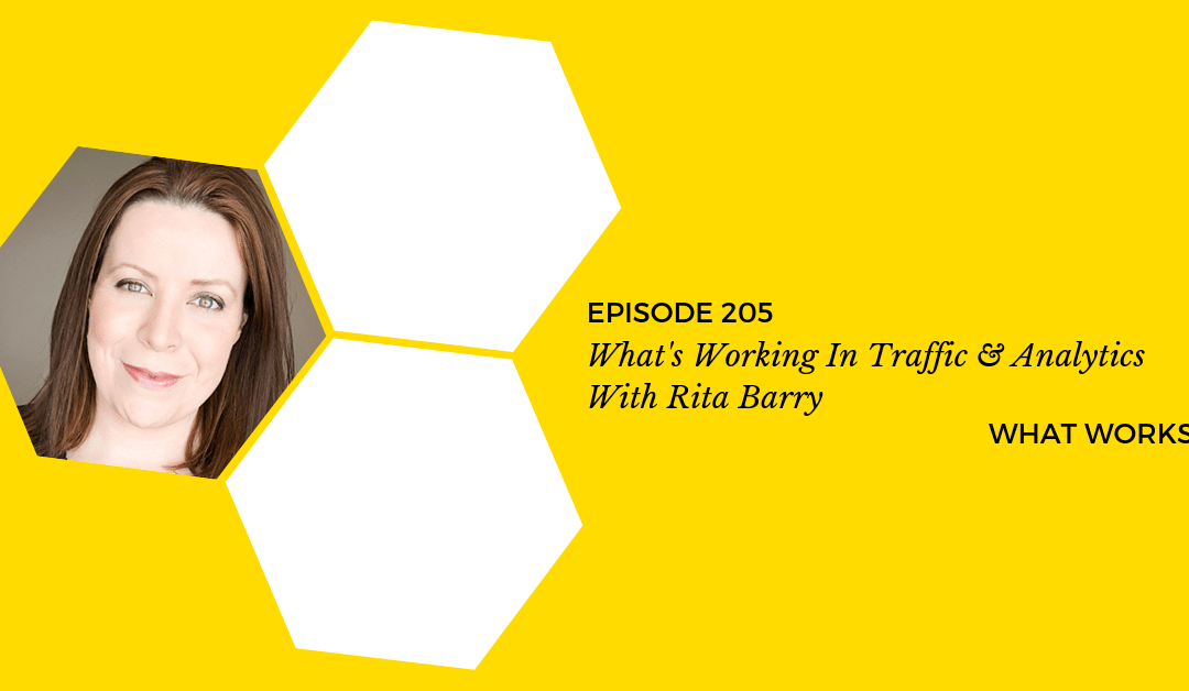 EP 205: What's Working In Traffic & Analytics With Rita Barry