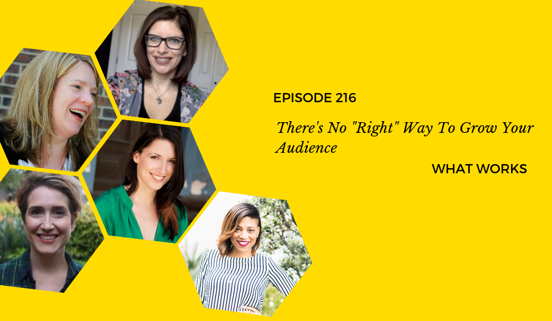 "Ep 216: There's No ""Right"" Way To Grow Your Audience"