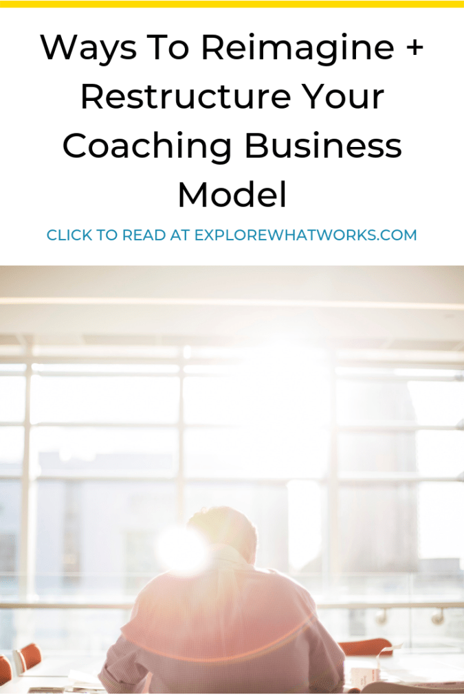 If you're a coach struggling with your business model, this is for you. Click through for new ideas about how to structure your coaching business! #businessmodel #entrepreneurpodcast