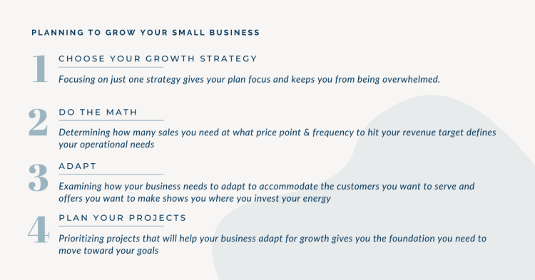 How to plan to grow your small business