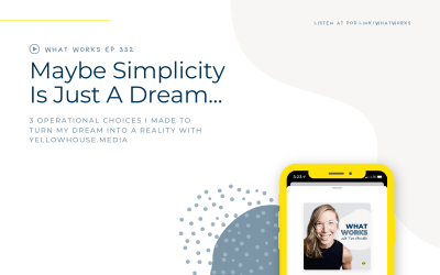 EP 332: Maybe Simplicity Is Just A Dream…