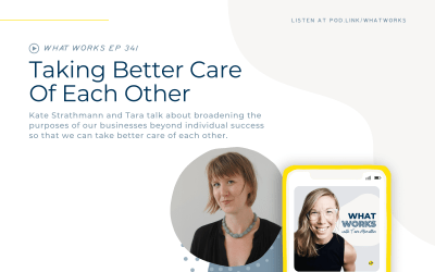EP 341: Taking Better Care Of Each Other with Wanderwell Founder Kate Strathmann