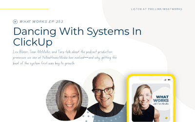 EP 353: Dancing With Systems In Clickup With Lou Blaser & Sean McMullin from YellowHouse.Media