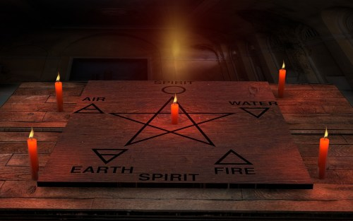 wiccan elements