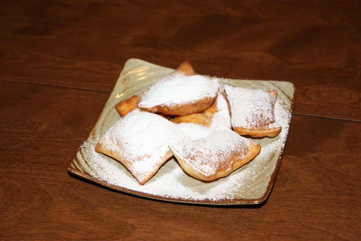 Delicious Beignets sitting on a plate