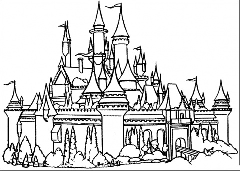 Disneyland_Castle_Coloring_Pages_01