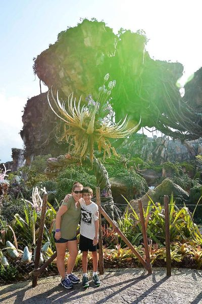 Hanging out in Pandora in Disney's Animal Kingdom