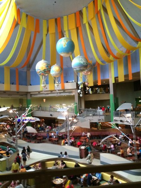 The Land Paviliion in Epcot - Home of Soarin' Around the World, Living With the Land, Sunshine Seasons, and Garden Grill