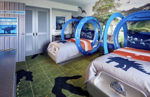 Jurassic world bed for kids