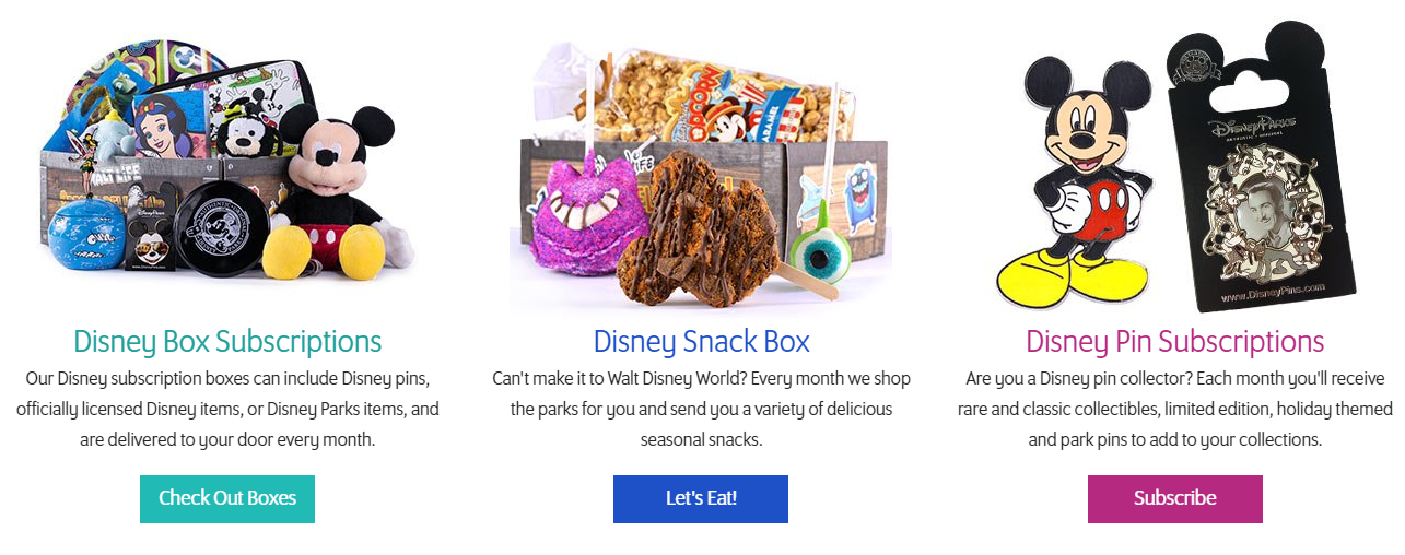 Walt Life Subscription boxes