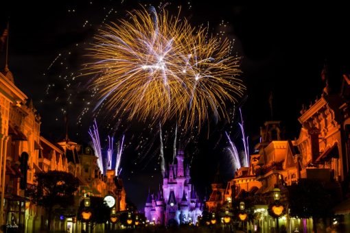 Hallowishes Fireworks at Mickey's Not So Scary Halloween Party