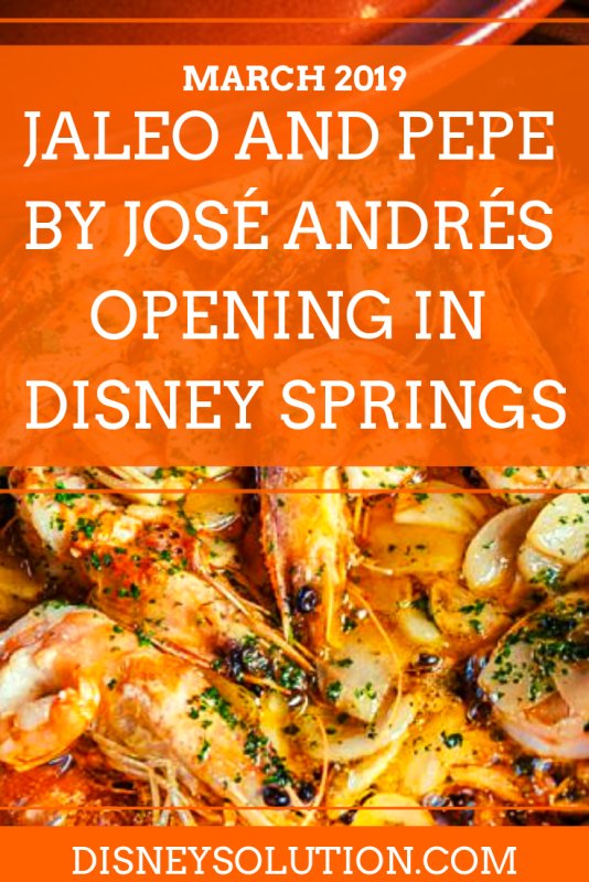 Jaleo And Pepe By José Andrés Opening In Disney Springs